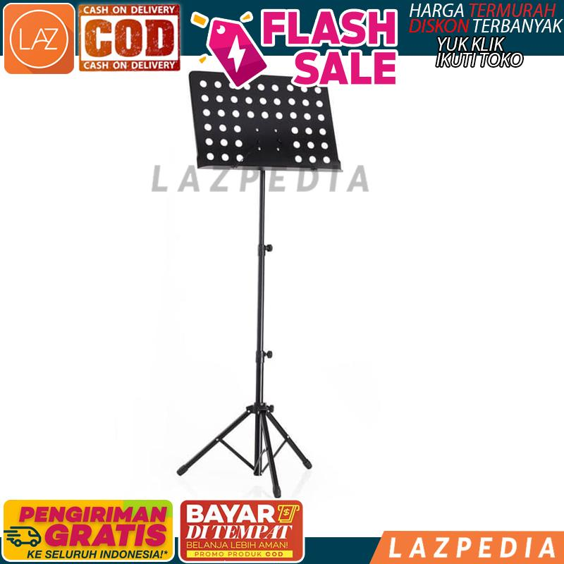 Cod - [ Large ] Music Stand Stand Book Dudukan Buku / Dudukan Buku / Stand Partiteur Lipat / Stand Buku - Lazpedia A817 By Lazpedia.