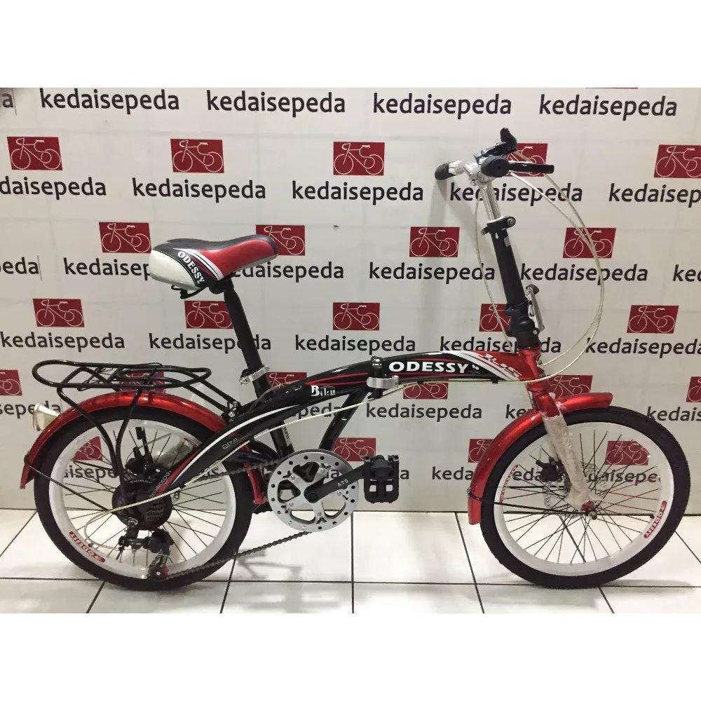 Sepeda Lipat 20 Odessy Discbrake