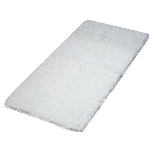 Bluelans® Ruang Tamu Lantai Karpet Berbulu Lembut 60 Cm X 160 Cm-Krem