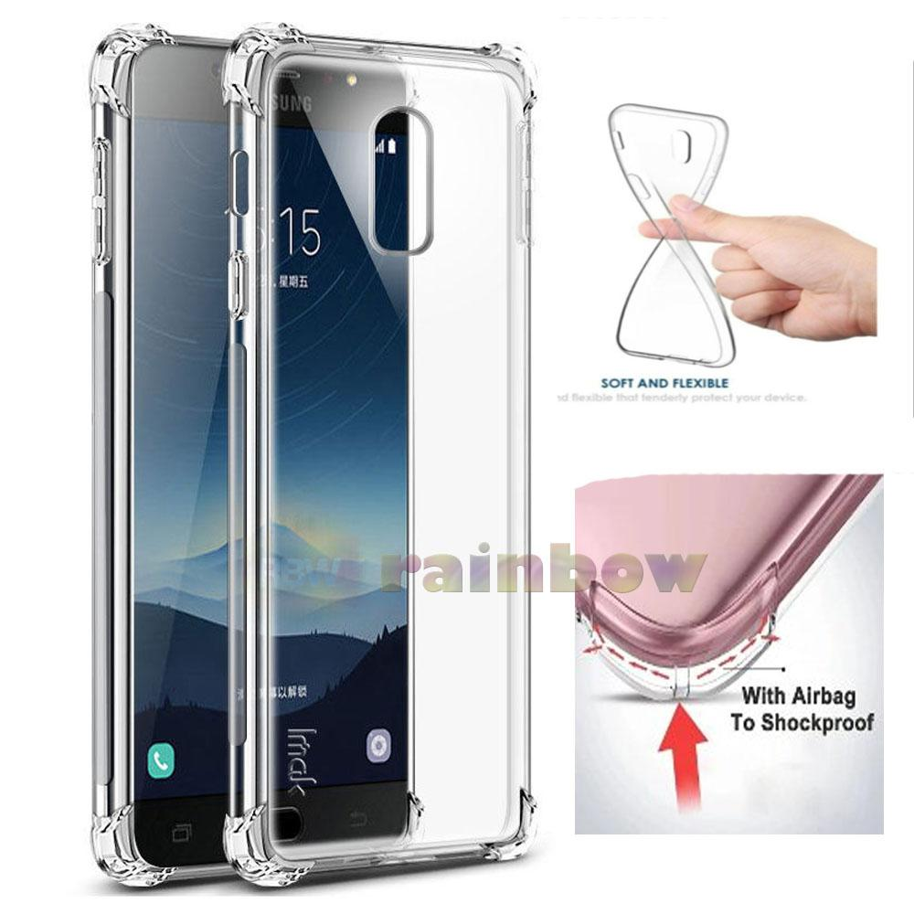 Buy Sell Cheapest Anti Crack Anticrack Best Quality Product Deals Fuze Case Samsung Galaxy J5 Prime Putih Rainbow J7 Plus C8 2017 Shockproof Ultrathin
