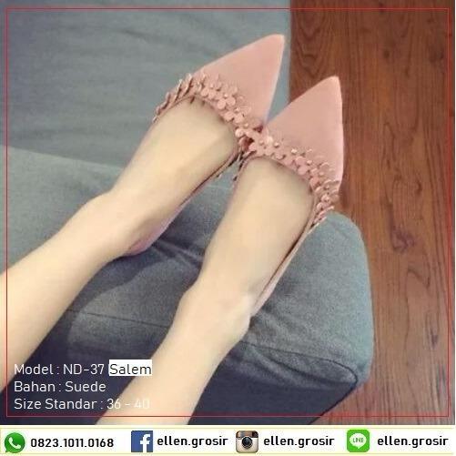 Ellen Taslim ND-37 Flat Shoes Flora Rita