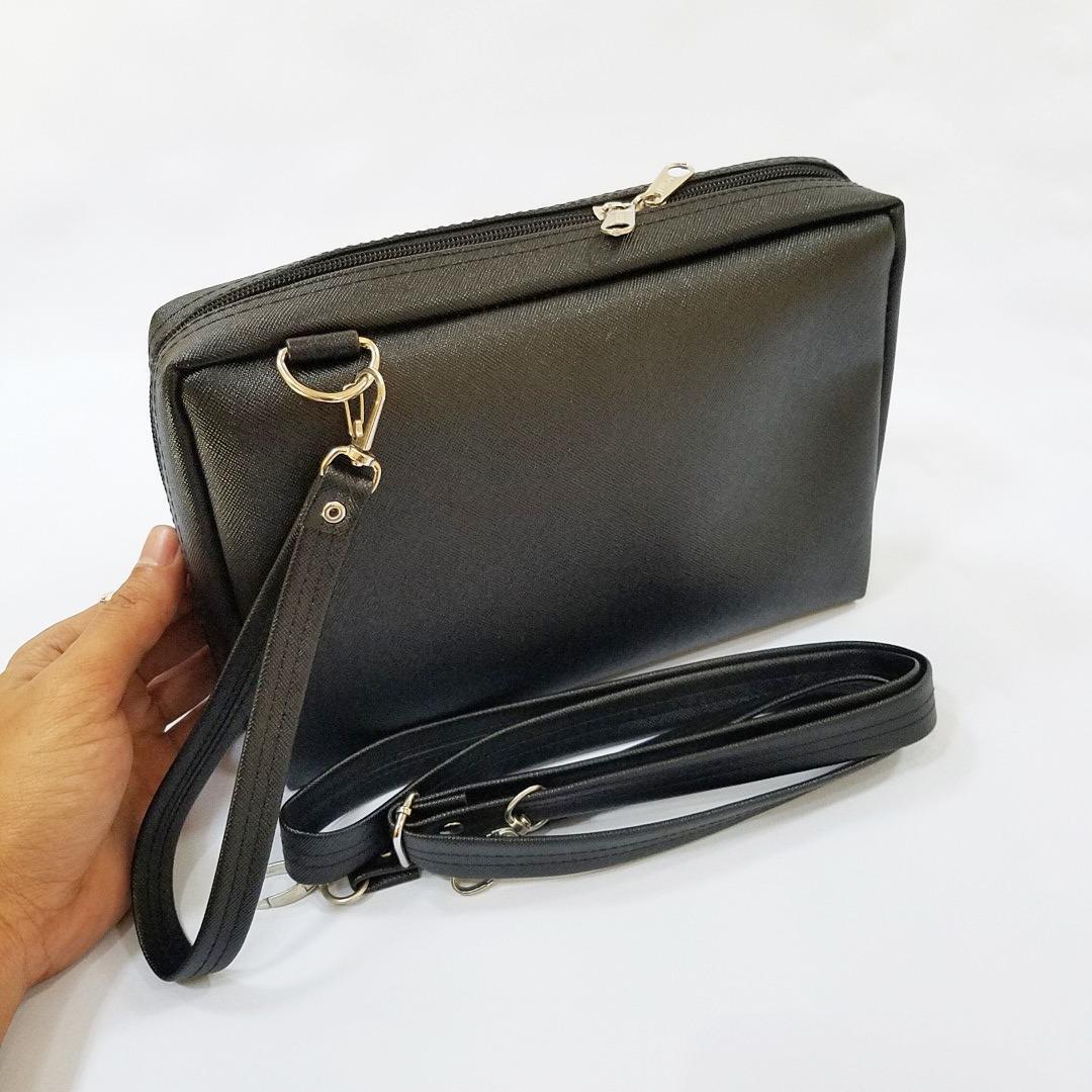 Exclusive Syn Leather Grade A Tas Dompet Tas Slempang Wanita HPO