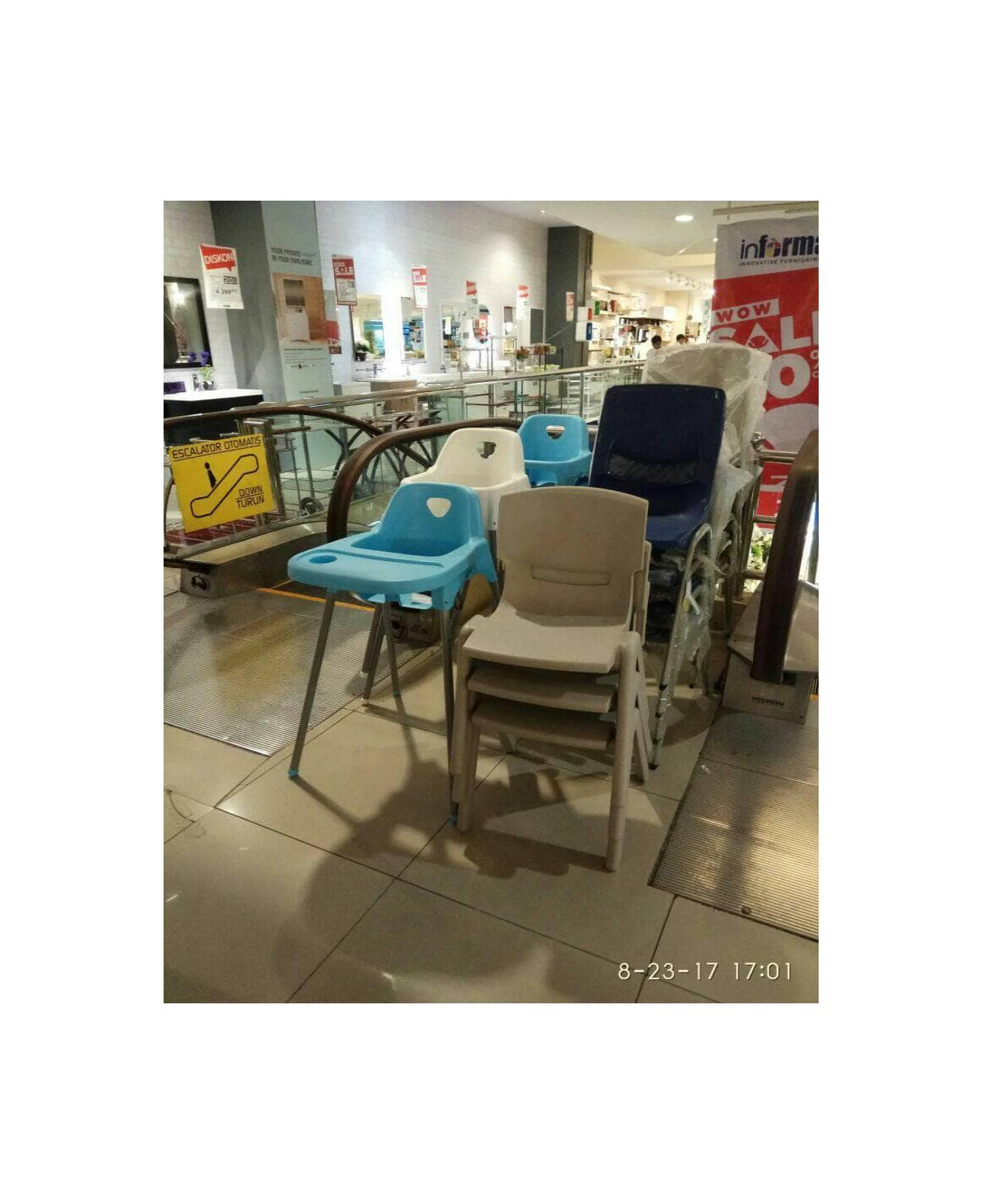 INFORMA Baby high chair murah