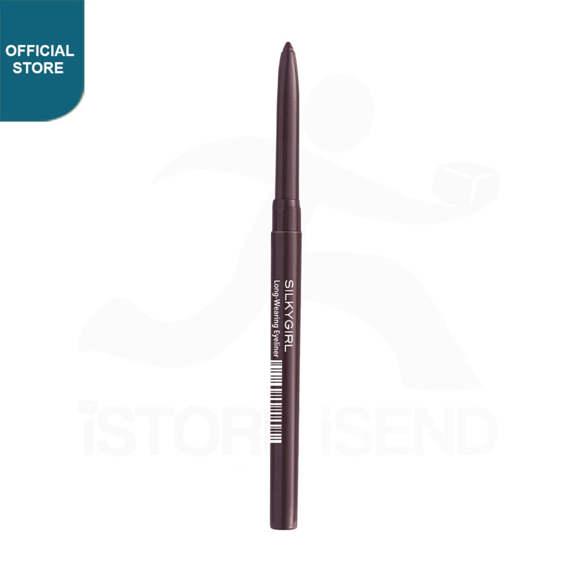 SILKYGIRL Long Wearing Eyeliner 02 Black Brown (GE0201-02)