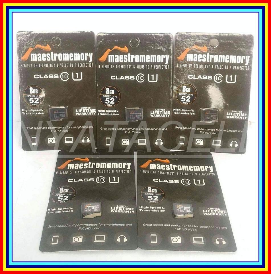 Beli Grosir Memory Vgen 8gb Class 10 Micro Sd Hc Card Memori Kelas Maestro V Gen