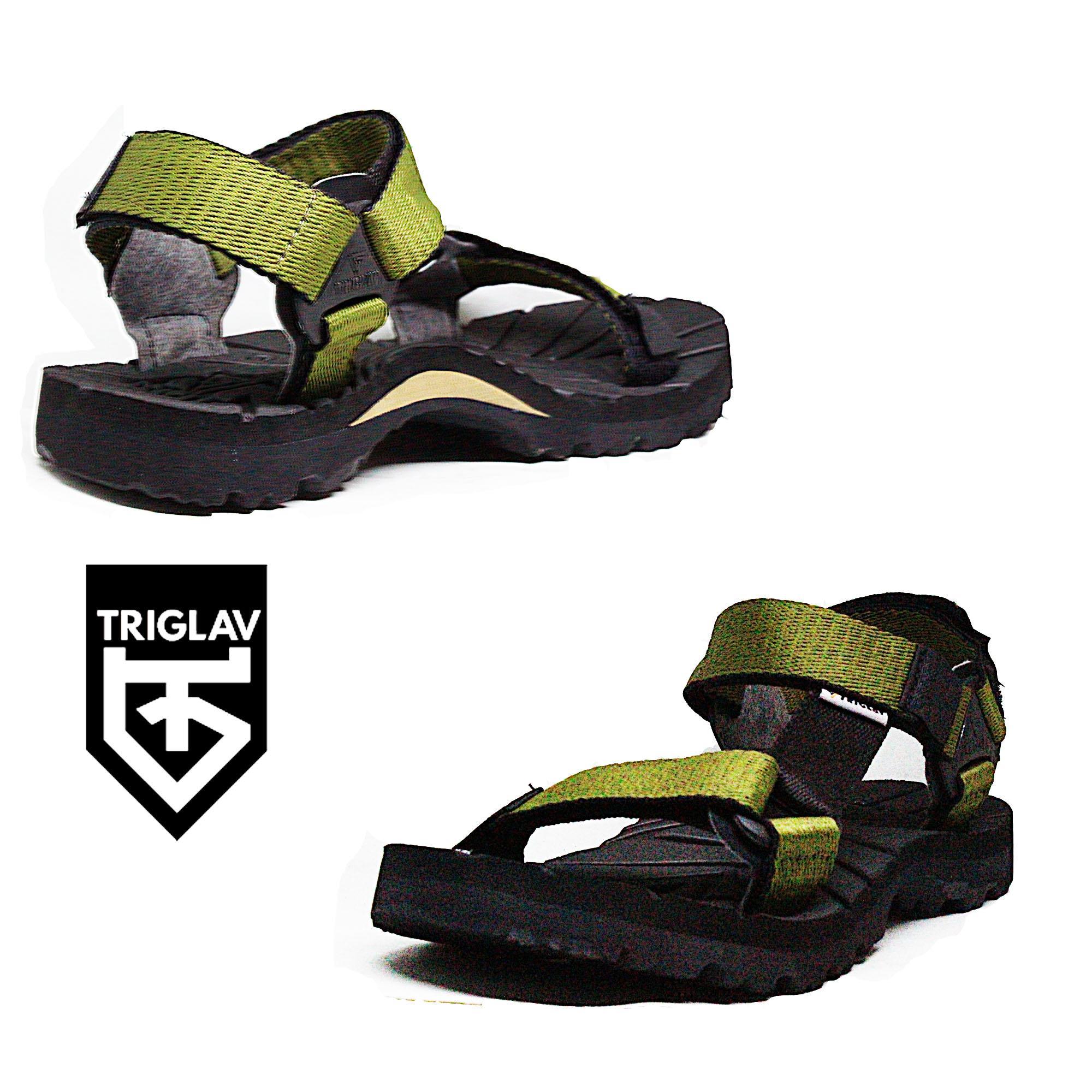 Sandal Gunung Pria / Sandal Pria Wanita / Sandal Outdoor TRIGLAV ORIGINAL Trendy / Dedek Jaya