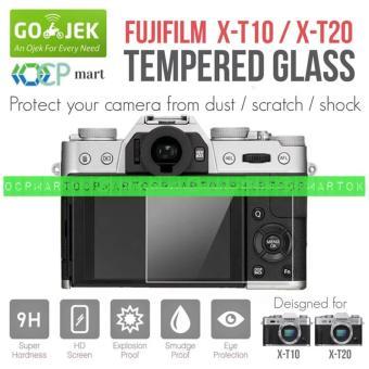 Price Checker Tempered Glass Fujifilm X-T10 X-T20 Anti Gores Screen Protector Fuji