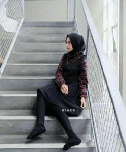 Delisa Store 2 Legging Wudhu Muslimah Import