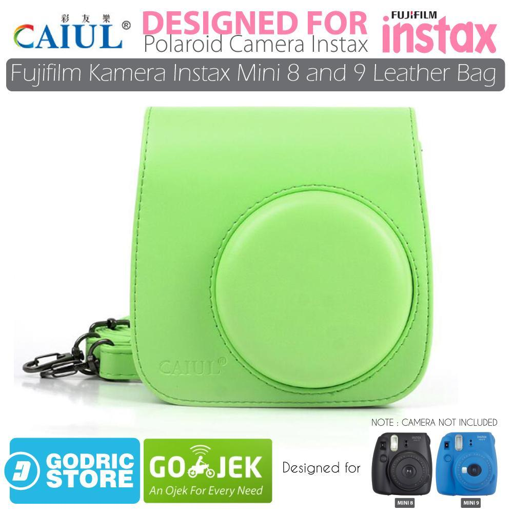 Godric Leather Bag/Tas/Case for Fujifilm Kamera Instax Mini 8 dan 9