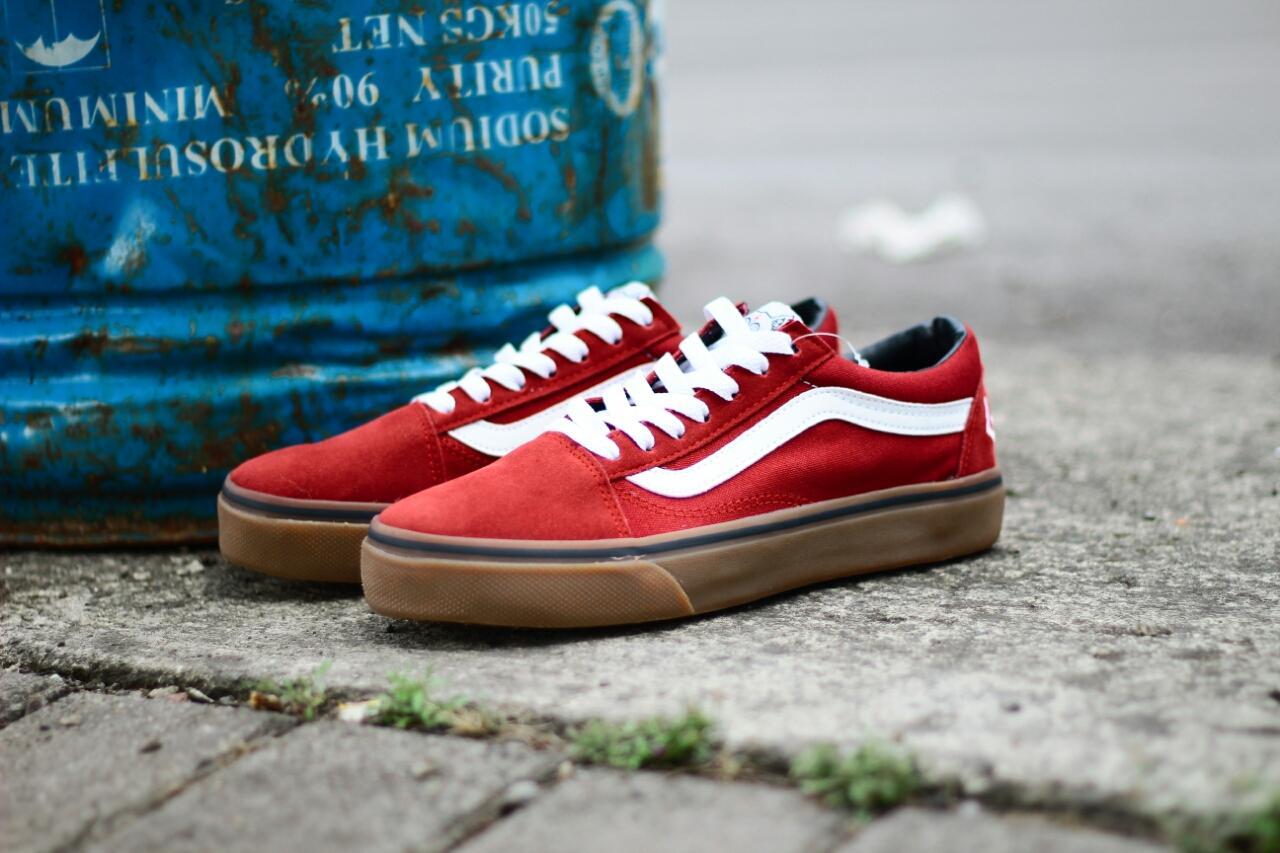 Sepatu Casual Skate Pria Vans OldSkool Golf Wang   Sneakers 56a15c7093