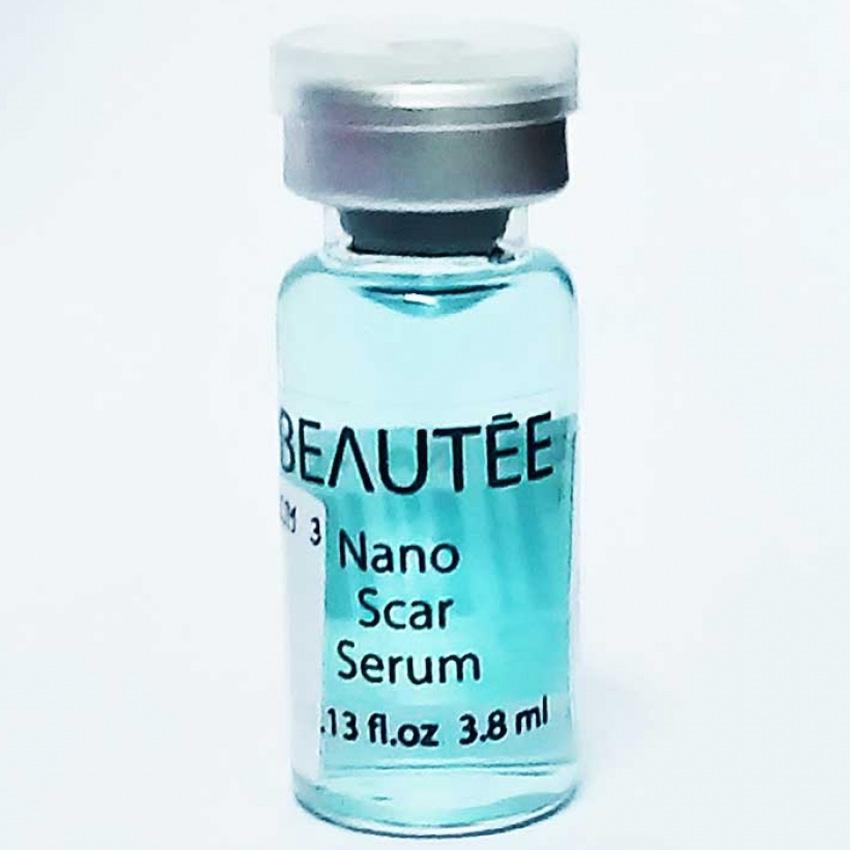 Beautee Nano Scar Serum Penghilang Bekas Luka Cacar Jerawat Pori Besar 1 Botol 3.8ml