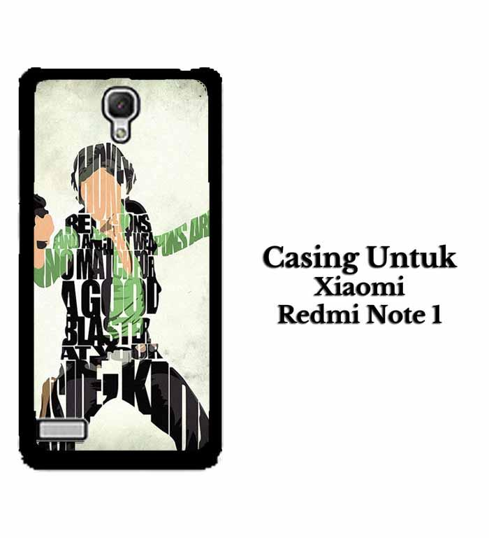 Casing XIAOMI REDMI NOTE 1 Han Solo Typography Hardcase Custom Case Se7enstores