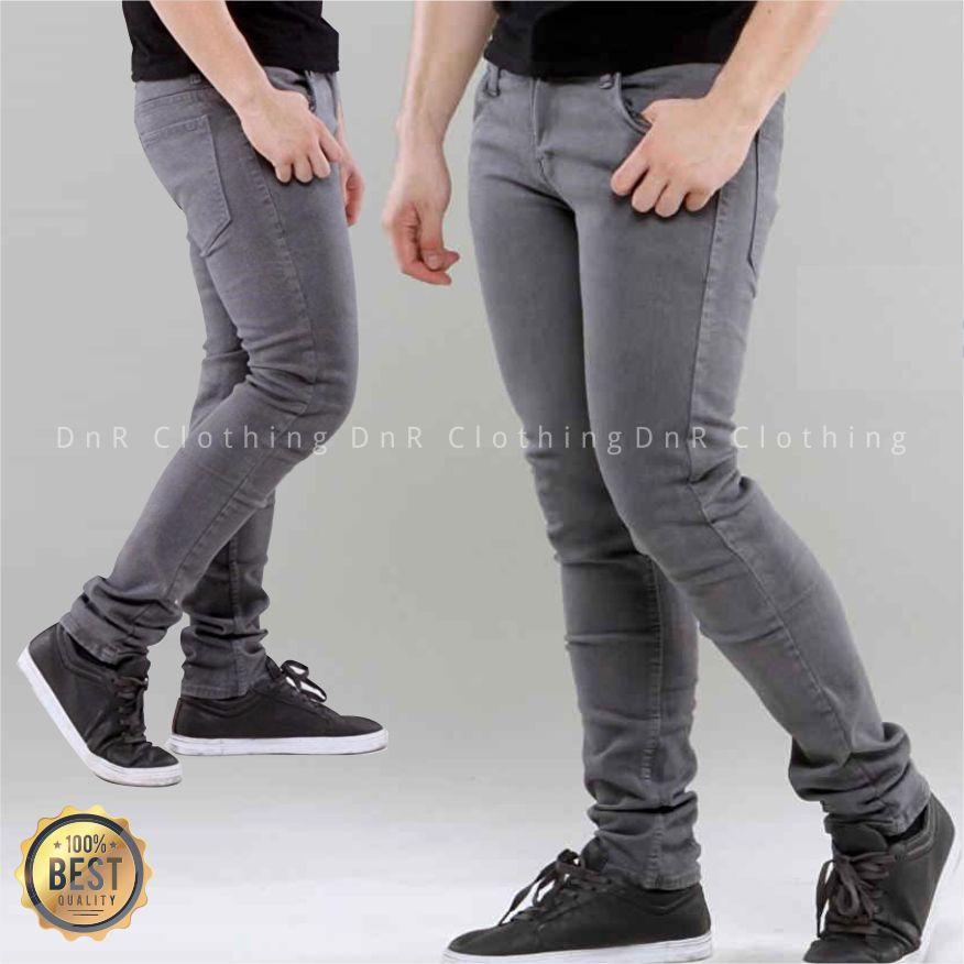 DnR Celana jeans Denim Pria Original Premium -  OLDGRE Skinny Slim Fit