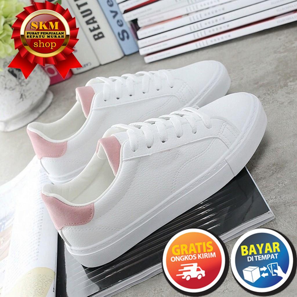 SKM Sepatu Kets Wanita ER PUTIH KOMBINASI   Sepatu Kets Sneakers dan Kasual  Pria 221eee7333