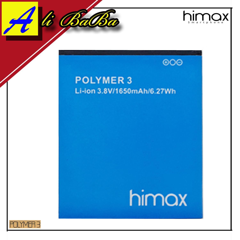 Baterai Himax Pure 3s Handphone Polymer 3 Batre Hp Battery