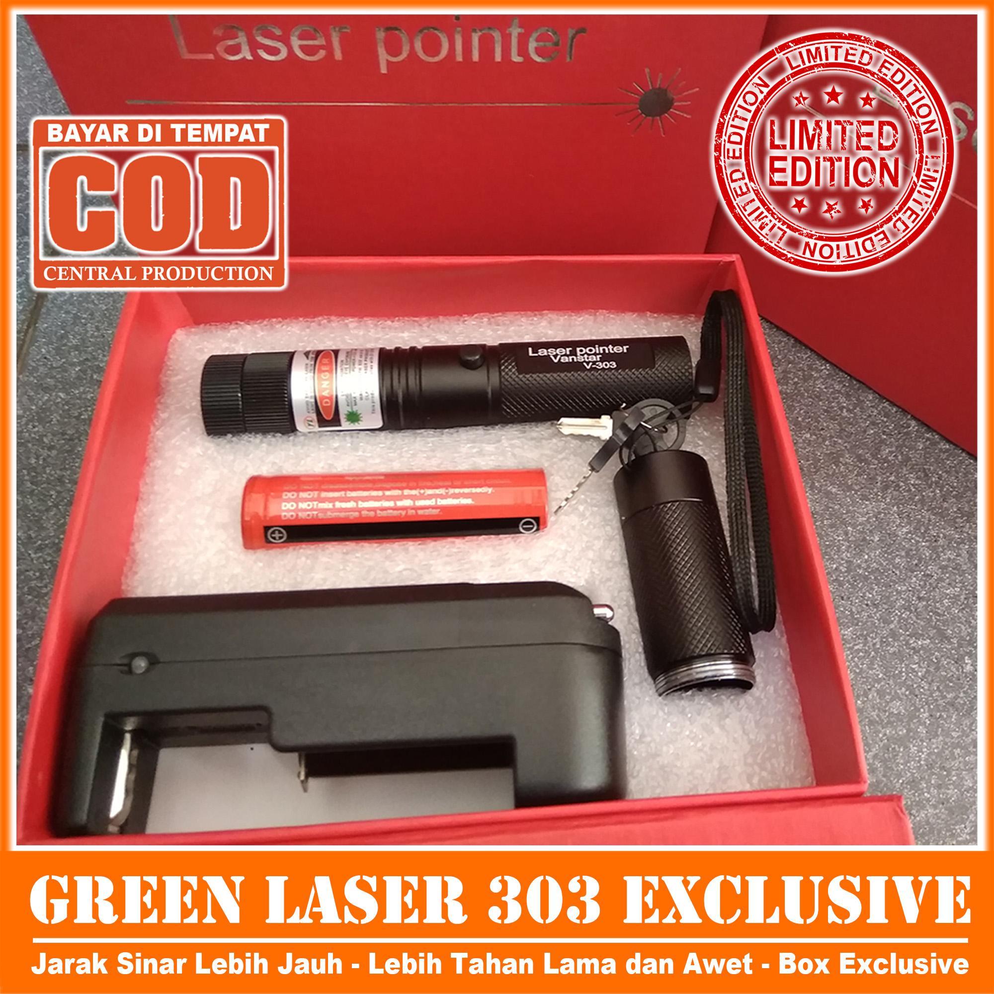 Green Laser 303 / Laser Hijau VERSI BARU Lebih Jauh, Lebih Tahan Lama REAL PICTURE