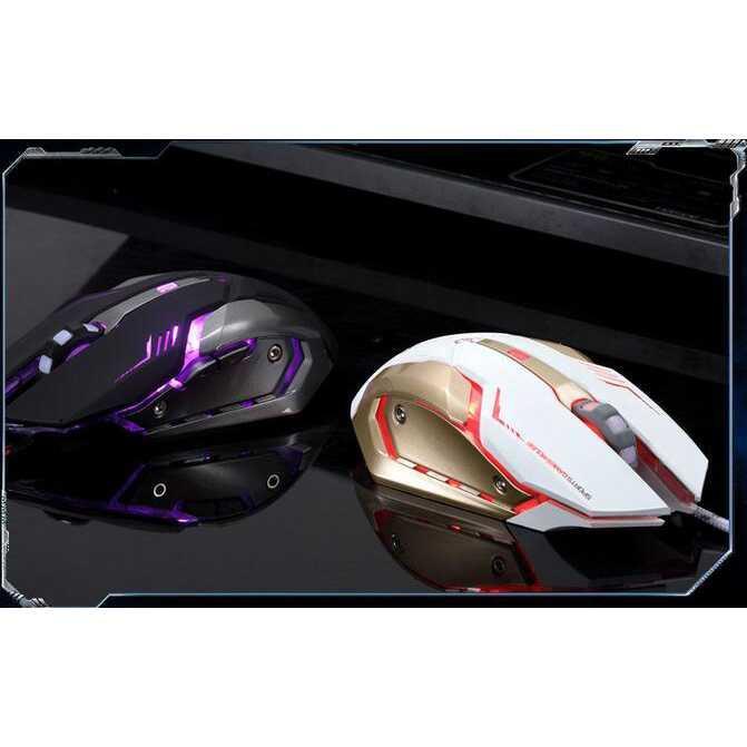 Jual Mouse Laptop / Komputer Terbaik Harga Murah / RAJFOO Gaming Mouse Laser - Model 4
