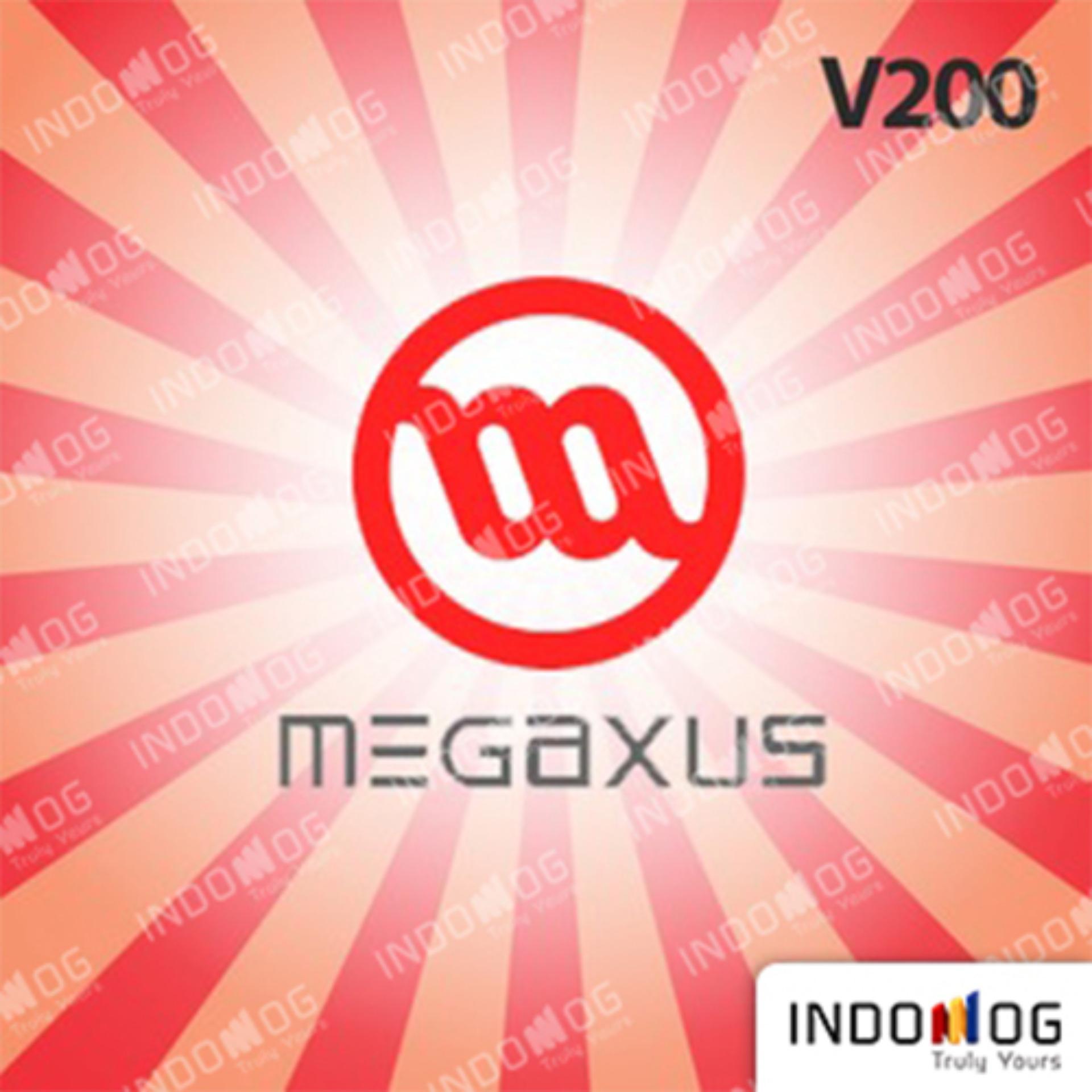 Game Digital Software Megaxus Voucher Gemscool 20000 Code Indomog V200