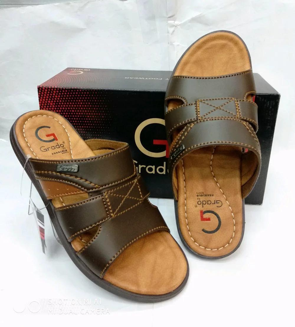 Sandal Pria Grado G0803 - Brown