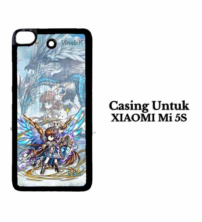 Casing XIAOMI Mi5S brave frontier fix Custom Hard Case Cover