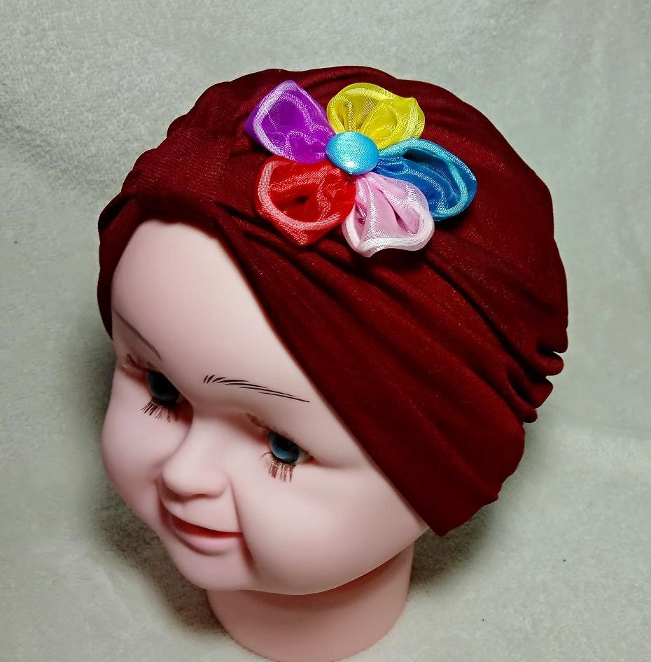Turban Bayi Anak Miniflow Single hijab kerudung aksesories headband