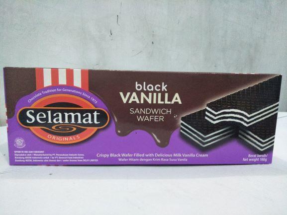 Selamat Wafer Black Vanilla 198 gr