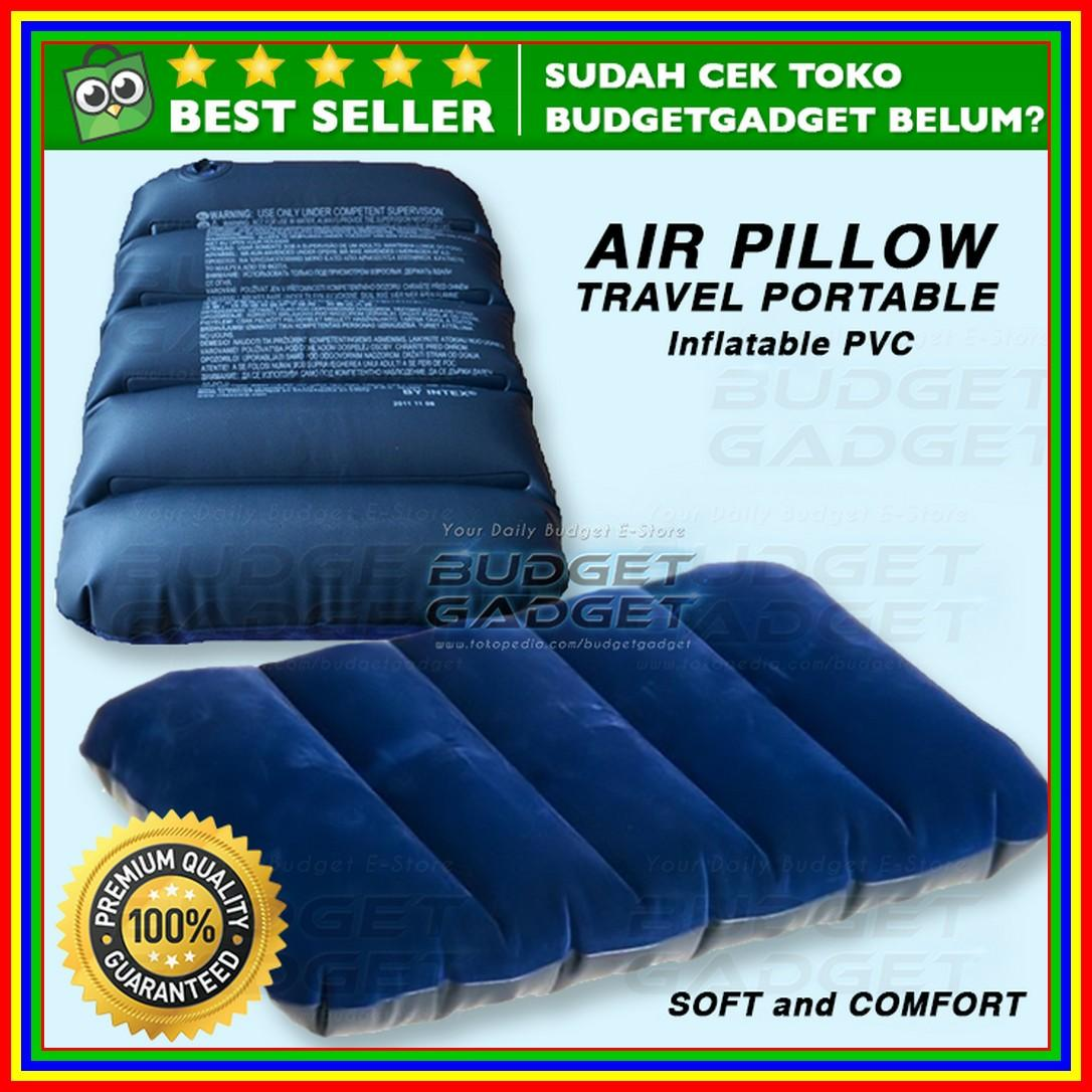 Bantal Angin Inflatable Pvc Neck Pillow High Rest