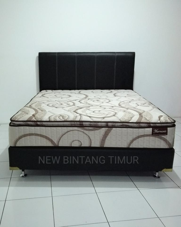 Spring Bed Romance Harmonis Pillow Top 160 X 200 Hb Abel - Full Set By New Bintang Timur.