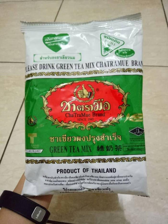 THAI GREEN TEA NUMBER ONE / CHATRAMUE BRAND THAI GREEN TEA NUMBER ONE / CHATRAMUE BRAND