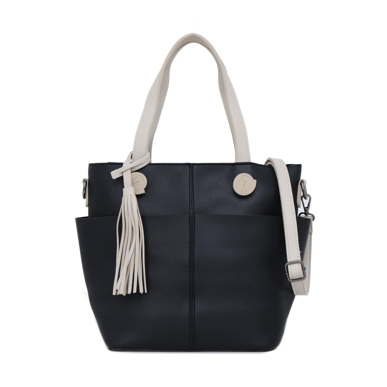 Tas Wanita Lorica by Elizabeth Khina Tote Bag Black 5abfbcf629