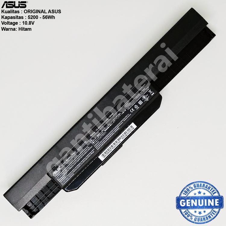 Original Baterai Asus A43 A43JC A43E A43J A43U A43S A43SA X43 X44 X44C X44H X44L X53 X53A X54 A32-K53