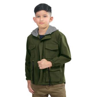 Harga preferensial Inficlo Jaket Kasual Anak Laki-Laki Olive - SRO 944  terbaik murah - Hanya Rp95.090 1ee510d479