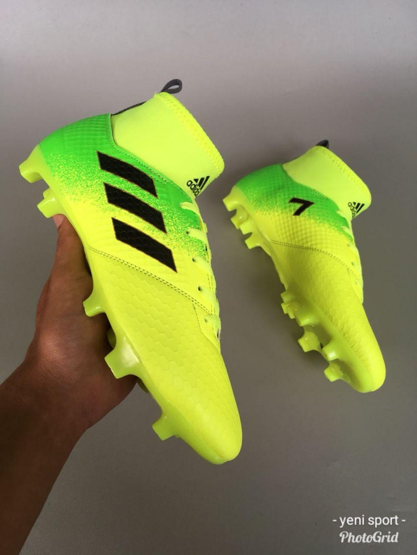 Sepatu Bola Futsal Anak Adidas Nike Hijau Stabilo