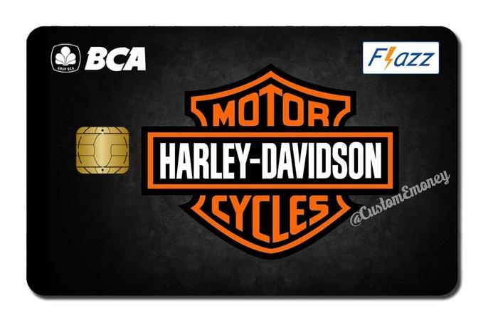 PROMO kartu bca flazz saldo 40 rb custom harley davidson black etoll 1s - nkguLTrY