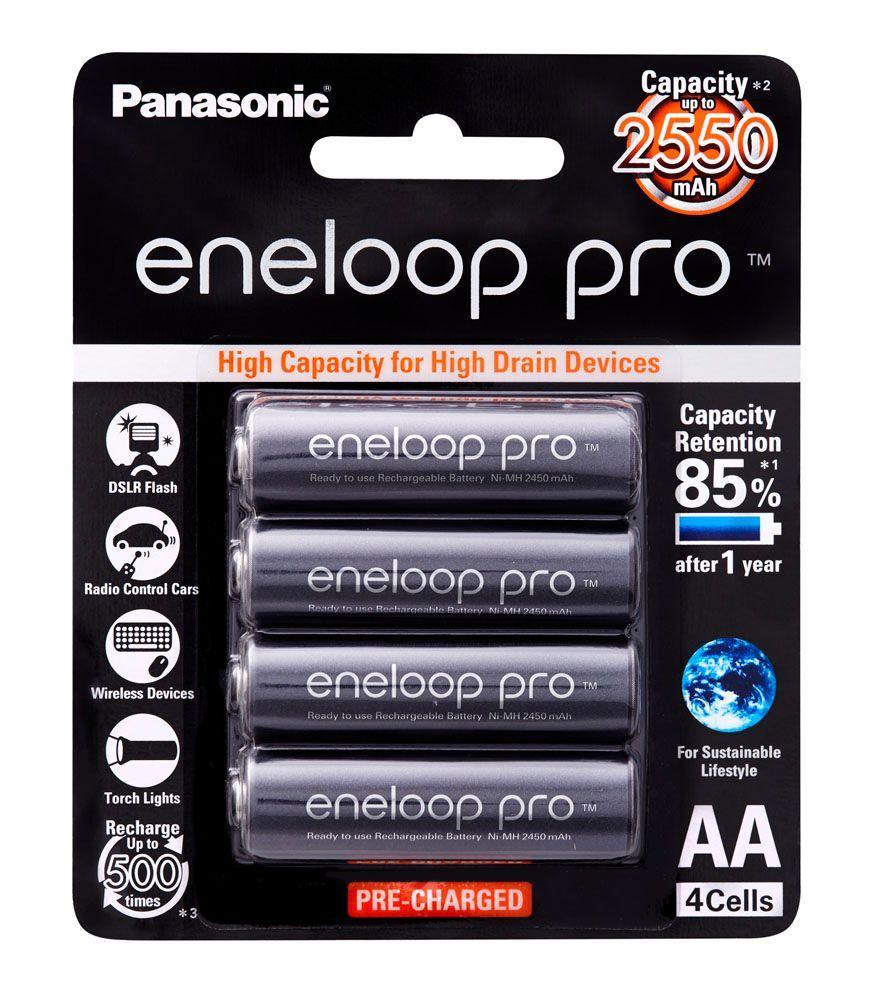 Baterai Panasonic Eneloop Pro Isi 4 2550 MAh