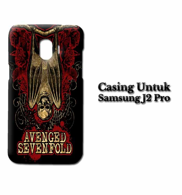 Casing Samsung J2 Pro Avenged Sevenfold A7X Custom Hard Case Cover