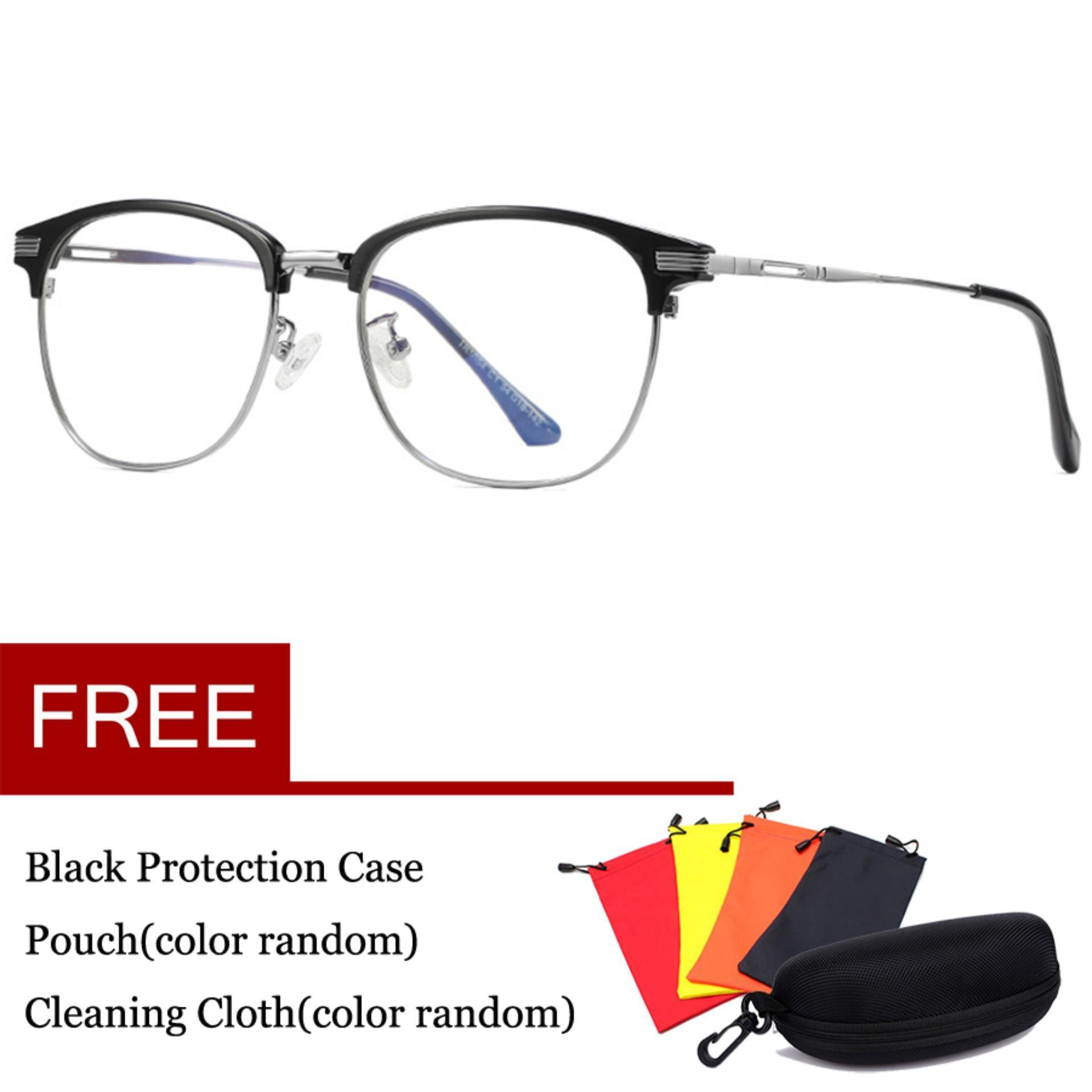 Komputer Kacamata Game Anti Cahaya Biru Kacamata Anti-Silau Anti Silau Tegangan Mata Lensa Perlindungan Uv 100% 0.00x Eyewear 5054 By Thomasstore