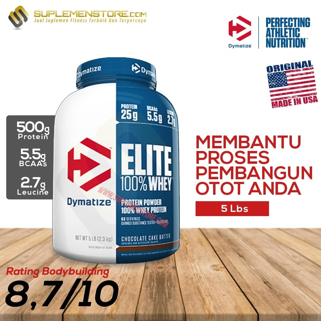 Buy Sell Cheapest Whey Protein Isolate Best Quality Product Deals 90 Wpi 500gr New Dymatize Elite Isi 5 Lb Coklat