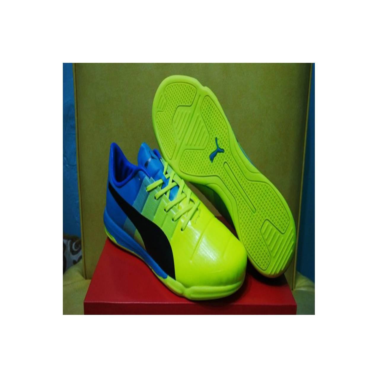 Sepatu Futsal - Puma Evopower 1.3 Safety Yellow