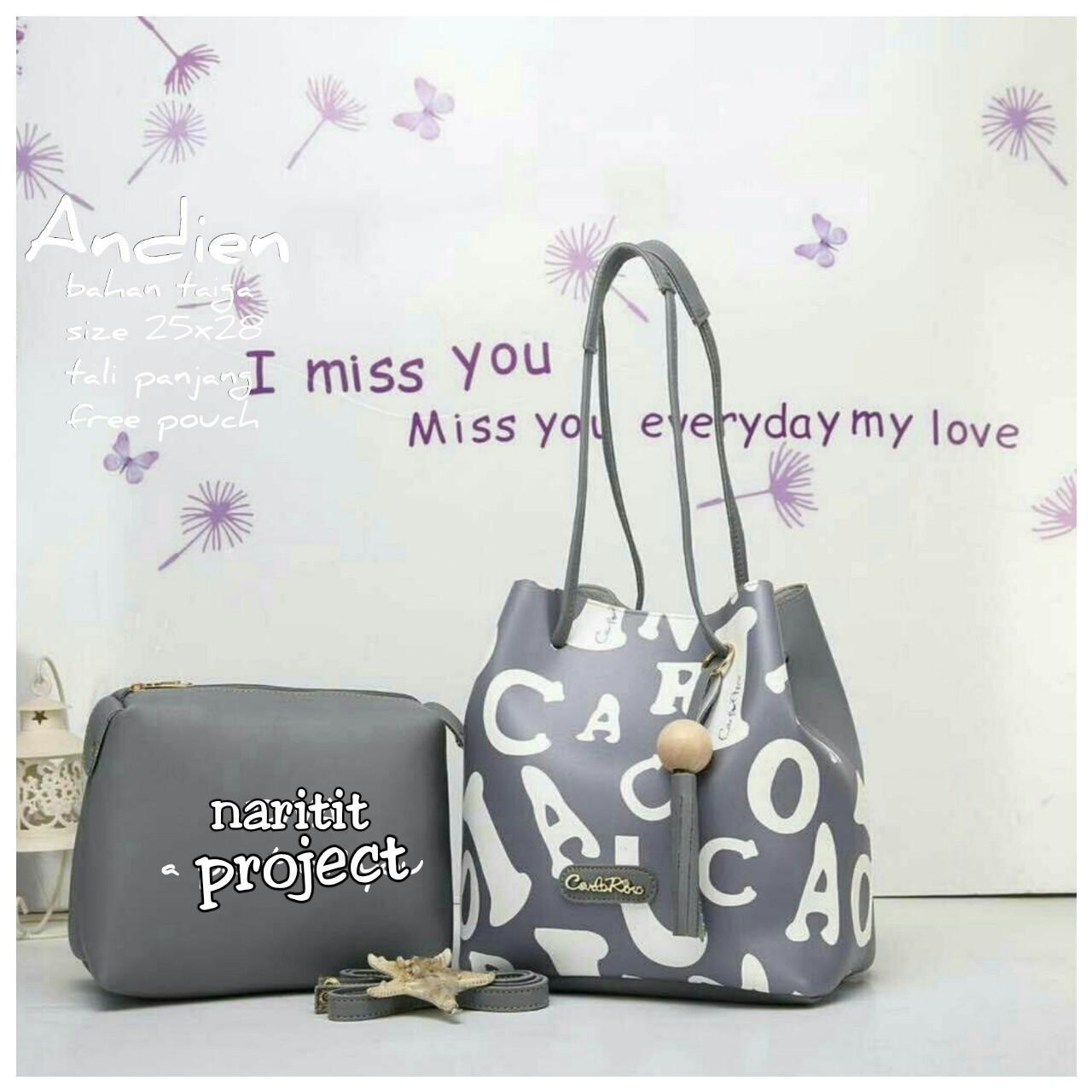 Revyra tas handbag wanita andien