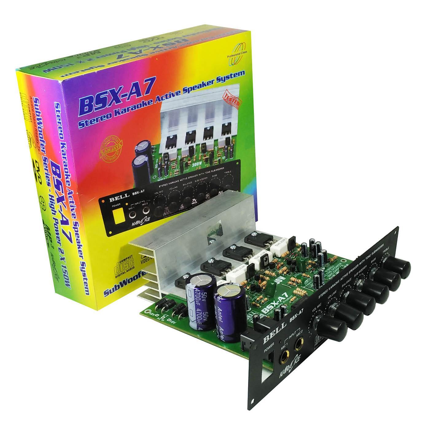 Kit Power Amplifier Aktif Bell BSX A7