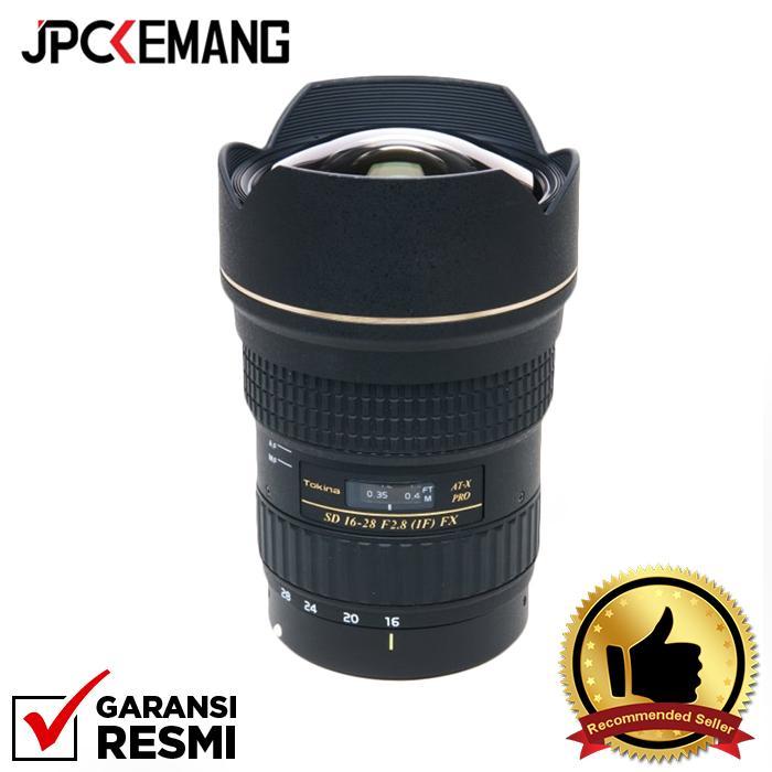 Tokina for Canon AT-X 16-28mm f/2.8 PRO FX Zoom Lens jpckemang GARANSI RESMI