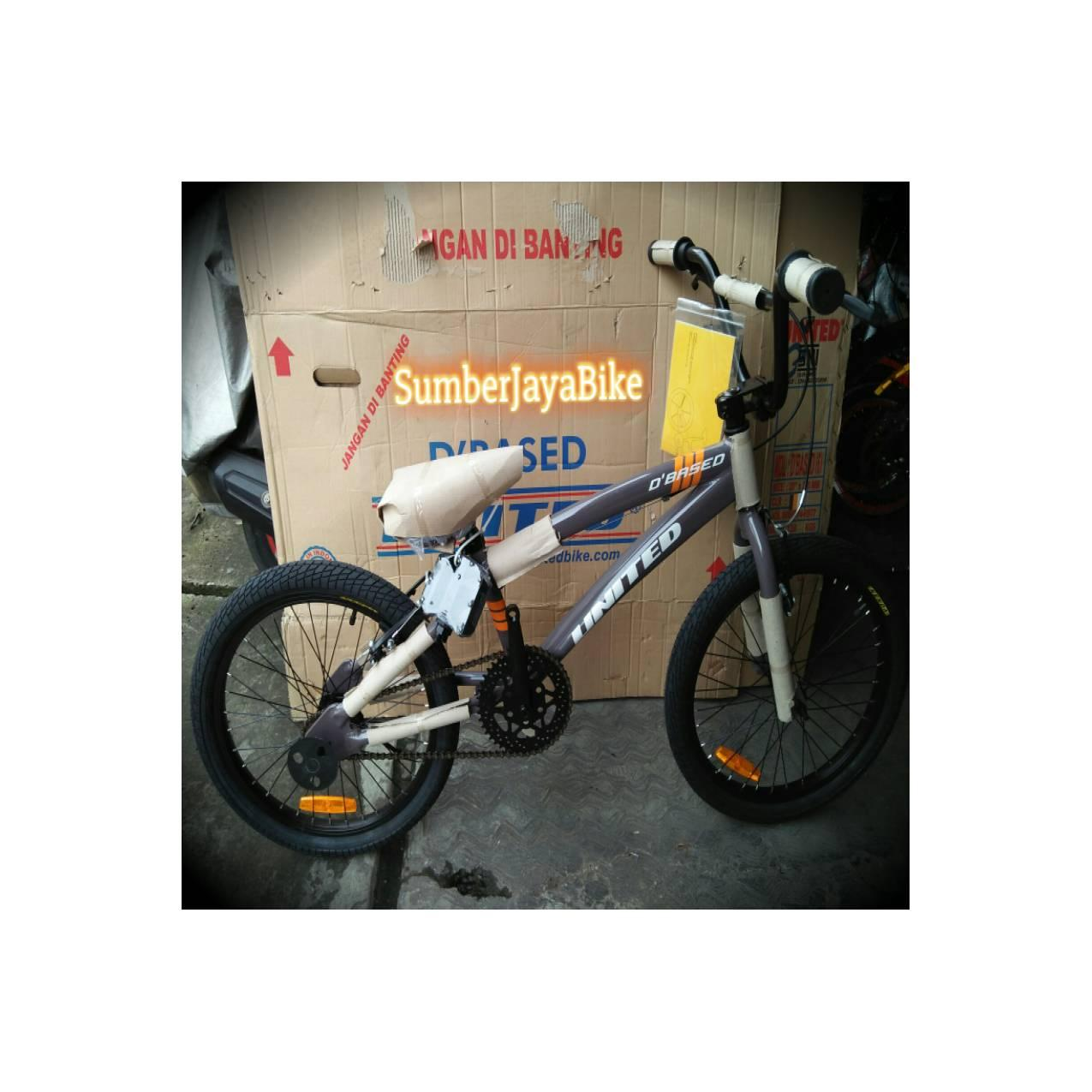 sepeda anak bmx 20 united dbased frame alloy