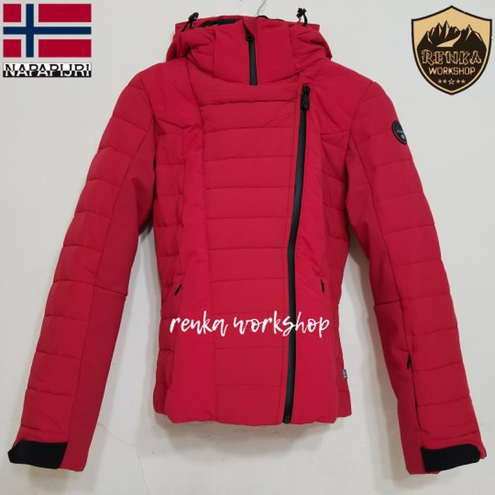 Napapijri Cocoe Ski Insulated Jacket - Size S EU Red