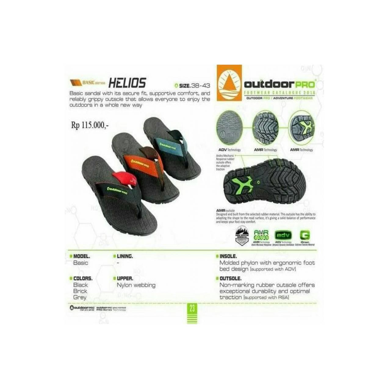Jual Sandal Outdoor Pro Seri Helios Not Eiger Consina Rei Boogie Murah