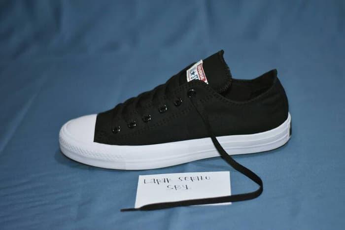 DISKON TERUS !!! Sepatu Converse Chuck Taylor II Komponen Ori / Hitam