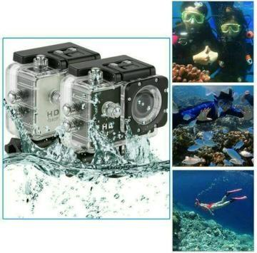 Action camera 4K UltraHD 16Mp 60Fps Wide Lens 30m underwater Terlaris di Lazada