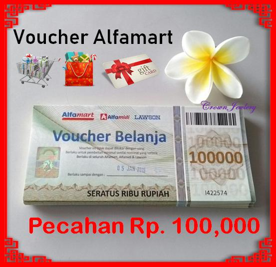 Hemat 10%!! Voucher Alfamart - ready stock
