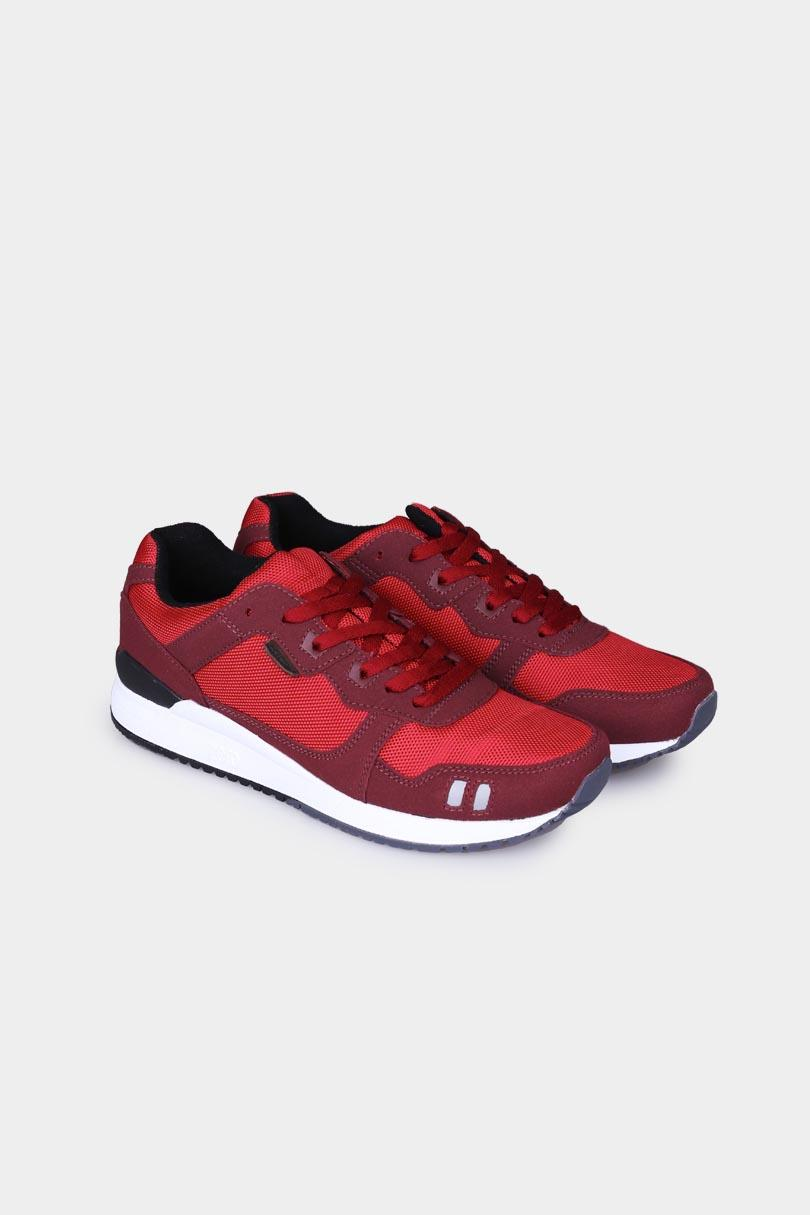 3 second Sepatu Sneaker Fashion Pria Men Shoes Red