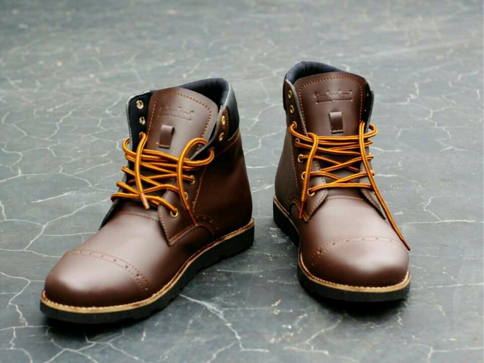 sepatu timberland brown